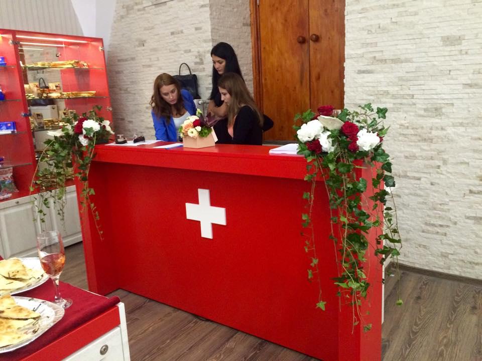 Swiss Corner - deschidere